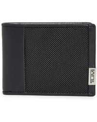 Tumi Alpha Double Billfold Wallet - Black