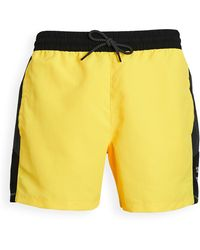 The North Face Extreme Colorblock Shorts - Yellow