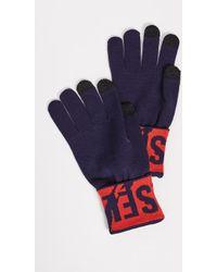 DIESEL - K-screex Gloves - Lyst