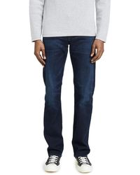 Citizens of Humanity Sid Classic Straight Jeans In Miles Wash - Blue