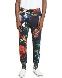 Paul Smith Gents Still Life All Over Print Sweatpants - Multicolor
