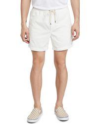 Polo Ralph Lauren Corduroy Shorts - White