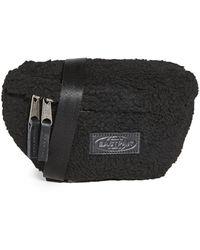 Eastpak Faux Shearling Springer Waist Pack - Black
