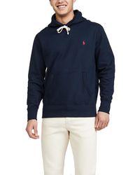 Polo Ralph Lauren Long Sleeve Fleece Sweatshirt - Blue
