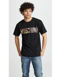 Moschino - Logo Tee - Lyst