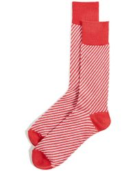Anonymous Ism - Spiral Jw Crew Socks - Lyst