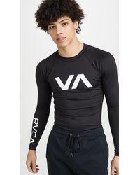 RVCA Va Sport Long Sleeve Sport Rashguard - Black