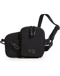 Y-3 Ch3 Cord Bum Bag - Black