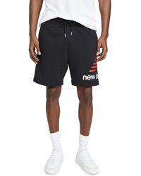 New Balance Essentials Icon Sweatshorts - Black