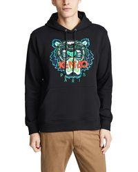 KENZO Tiger Print Sweater - Black