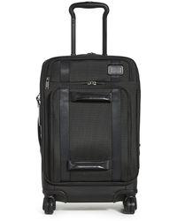 Tumi Merge International Front Lid 4 Wheeled Carry On Suitcase - Black