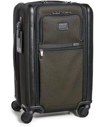 Tumi Alpha International Dual Access Carry On Suitcase - Multicolour