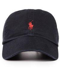 Polo Ralph Lauren Classic Pony Cap - Black