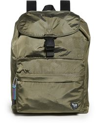 PS by Paul Smith Camo Zebra Backpack - Green