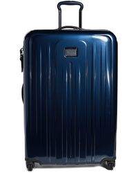 Tumi V4 Extended Trip Expandable 4 Wheel Suitcase - Blue