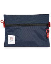 Topo Medium Accessory Bag - Blue