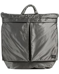 Porter Tanker 2 Way Helmet Bag - Metallic
