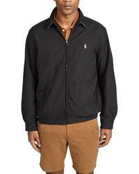 Polo Ralph Lauren Bi-swing Windbreaker Jacket - Black
