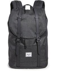 Herschel Supply Co. Retreat Mid Volume Backpack - Black