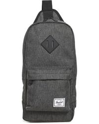 Herschel Supply Co. Heritage Shoulder Bag - Black