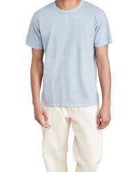 Save Khaki Recycled Jersey T-shirt - Blue