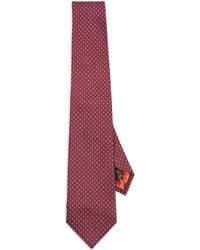 Paul Smith - Dot Print Tie - Lyst