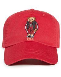 Polo Ralph Lauren Cls Sport Cap - Red