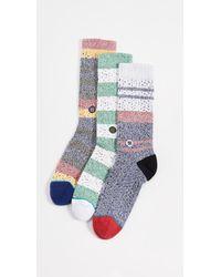 Stance Butter Blend 3 Pack Socks - Multicolour