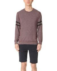 Splendid Mills - Graphic Crew Neck Sweatshirt - Lyst