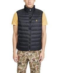 Polo Ralph Lauren Packable Down Vest - Black