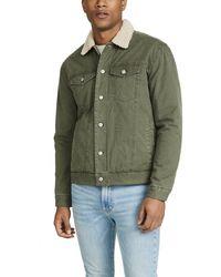 Rails Mckinley Sherpa Collar Jacket - Green