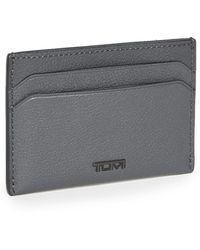 Tumi Nassau Slg Slim Card Case - Grey