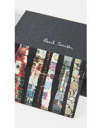 Paul Smith Printed Card Case - Multicolour