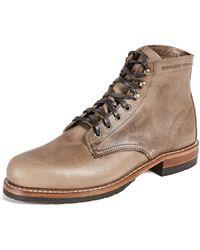 Wolverine Evans Boots - Brown