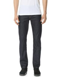7 For All Mankind - Slimmy Stretch Slim Straight Jeans - Lyst