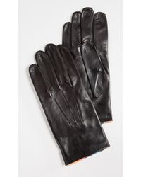 Paul Smith - Striped Piping Gloves - Lyst