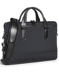 Tumi Harrison Sycamore Slim Briefcase - Black