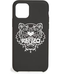 KENZO Iphone 11 Pro Silver Tiger Case - Black