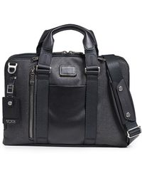 Tumi Alpha Bravo Aviano Slim Briefcase - Black