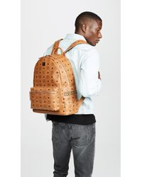 MCM - Stark Medium Side Stud Backpack - Lyst