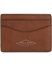 Rag & Bone - Hampshire Card Case - Lyst