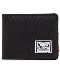 Herschel Supply Co. Roy Bi Fold Wallet - Black