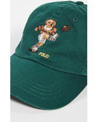 db63e7d7e Rugby Bear Baseball Cap - Green