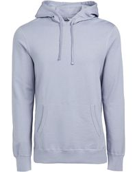 Reigning Champ Lightweight Terry Pullover Hoodie - Blue