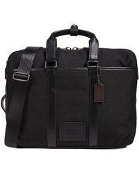 COACH - Metropolitan Convertible Briefcase - Lyst