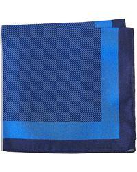 HUGO - Blocked Stripe Pocket Square - Lyst