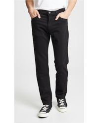 J Brand Kane Straight Fit Jeans - Multicolor
