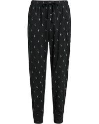 Polo Ralph Lauren Jersey Knit Joggers Trousers - Grey