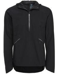 On Waterproof Anorak Jacket - Black