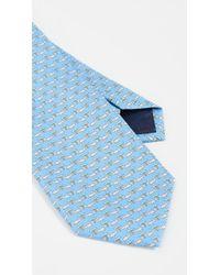 Ferragamo - Rhinoceros Print Classic Tie - Lyst
